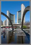 Queen & Bay streets -- The Toronto City Hall
