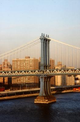 New York; Manhattan Bridge<br>1982/11/25<br>kbd0507