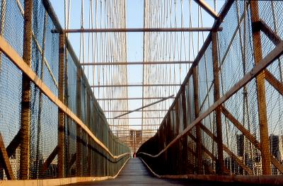 New York; Brooklyn Bridge