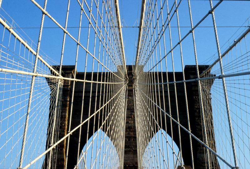 New York ; Brooklyn Bridge, nov.1982