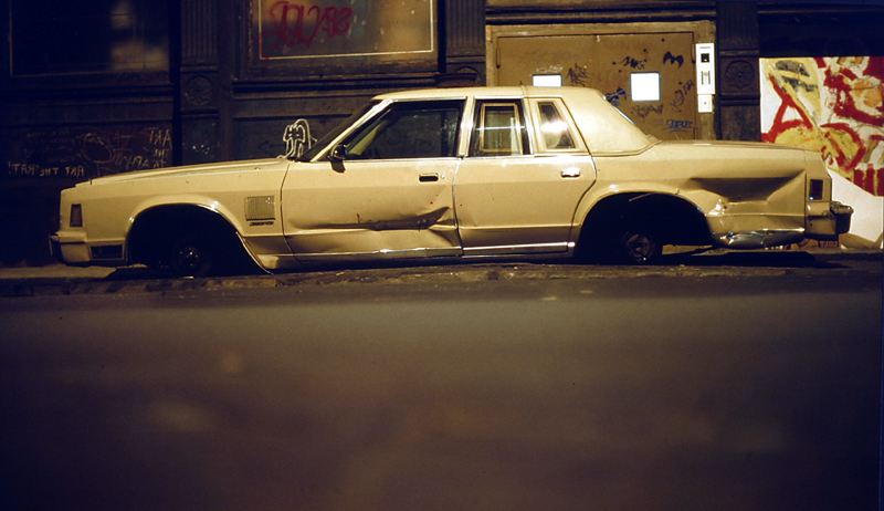 Going nowhere<br>New York<br>1982/11/25<br>kbd0527
