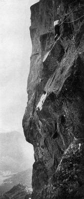 1935 - Face NW du Petit Pic dOssau