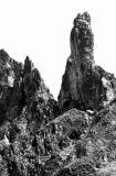 Caperan de Sesques, face Nord