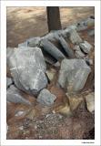 Rocks along the path