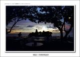 silhoutte of Tanah Lot