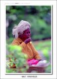 old woman in Uluwatu