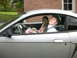 Chelsea and Daniel off to prom in Hannah's car!