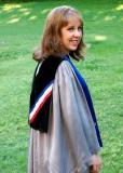 Hannah before graduation