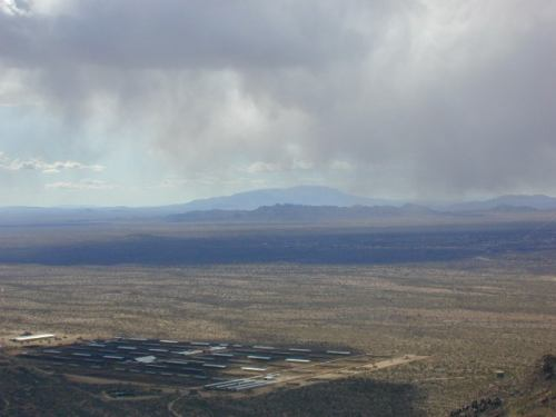Looking down from Yarnell Hill