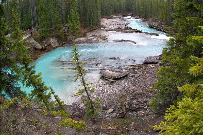 Glacier Water at Natural Bridge