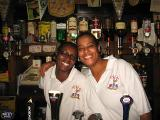 Carol & Maureen - two lovely barpeople