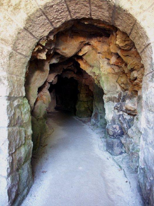 grotto entrance