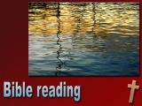 'Bible reading' slide from the 'Dartmouth' series
