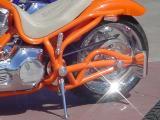custom motorcycle shine
