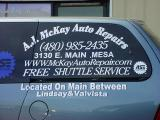A J McKay auto repair