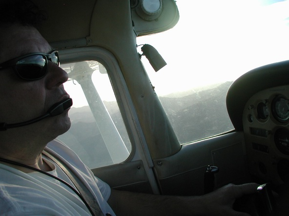 Darcy at the controls