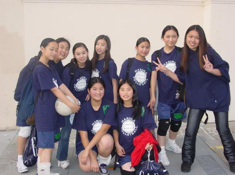 volleyball team 2003