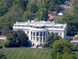 The White House, viewed from the Washington Monument