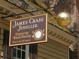 James Craig, Jeweller