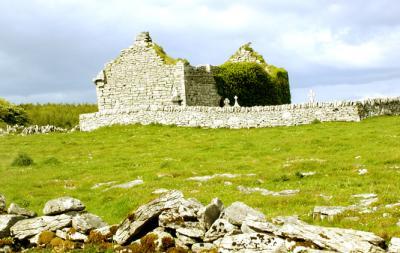 Burren church ruin