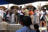 Dancing in the square, Merida