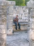 and, Mark amongst the columns