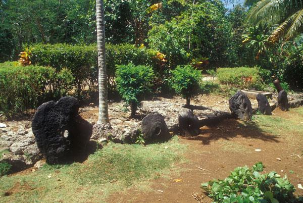 Stone Money Bank in Maa Village