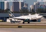 Frontier Airlines A319-111 N913FR aviation airline stock photo #1555