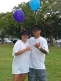 We made it!  Lisa (Training & Development) and Ikaika (HNL Terminal)