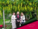 Bebe Jan Susie at Butchart Gardens