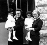 Mary Kit and 2 girls on Their Baptism Day