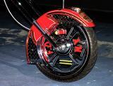 Fire Bike Custom Wheel