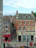 Posthouse Wynd from the Town Clock