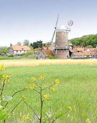 Cley Mill, Norfolk, UK.