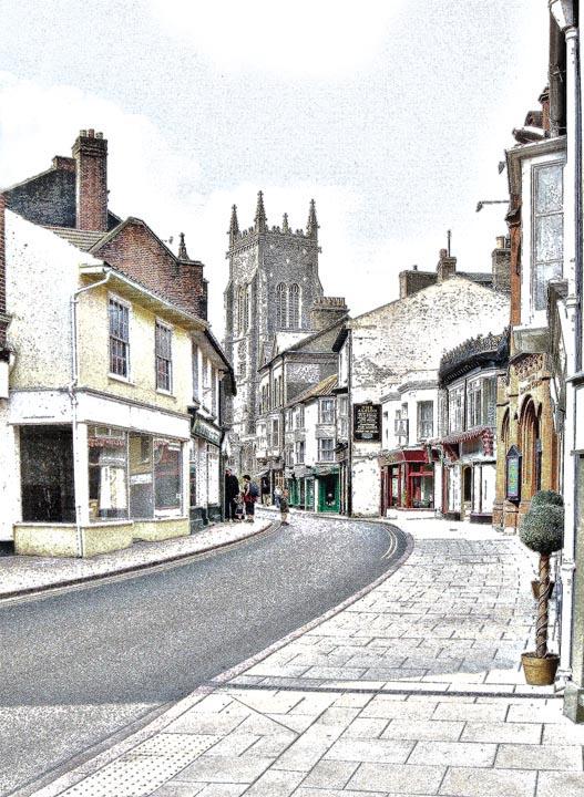 Cromer Town, Norfolk, UK