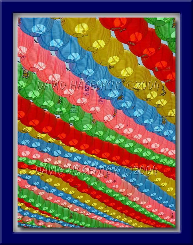 Lanterns for Buddhas 2548th Birthday