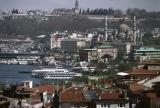 Istanbul view top kapi tele and yeni 1