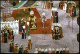 Sultan receiving guests