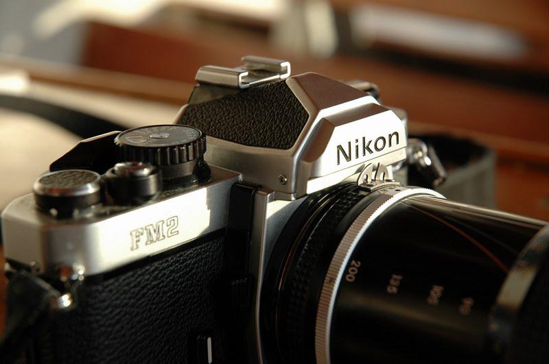Strange old analog camera... :-)