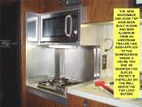 NEW MICROWAVE AND COOK-TOP STOVE