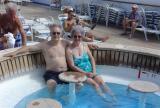 DSC01247 - Wayne and Vicki in the Splash bar