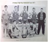 Ocmulgee High Boys Basketball Team 1957
