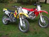 RMZ250/KX250F versus CRF250R
