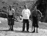 Robert Ollivier, Pierre Vergez et François Cazalet en 1933