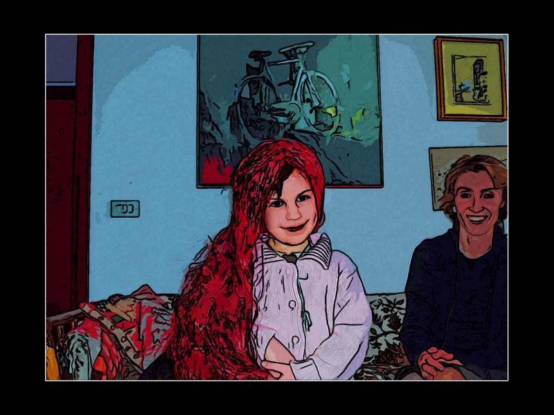La parucca rossa (the red wig)