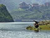 Fishing, Shennong Stream, Badong