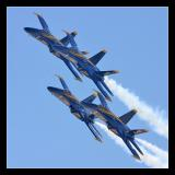 Blue Angels at Jones Beach