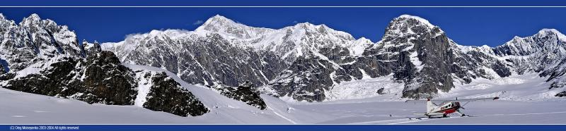Mt. McKinley /South Peak/, Alaska, US (340Kb)