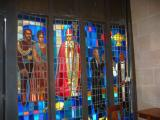 St Andrew Church stain glass window