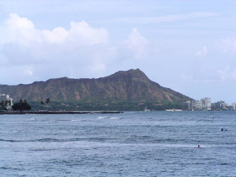 Diamond Head from From Point Panic